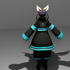 Download free 3D printing designs Tamaki Kotatsu rigged Low-poly 3D model, Anxhelo24j