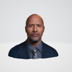 Capture.PNG Download STL file Dwayne Johnson 3D Model Big Quality • 3D printer design, strale15