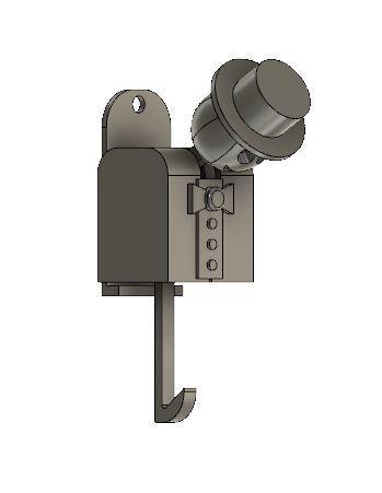 Captura6.JPG Download STL file Happy Man Key Holder • 3D printing object, manzanitalm123