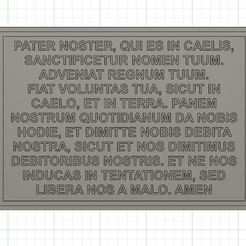 pater noster.JPG Download STL file Pater Noster • 3D print object, manzanitalm123