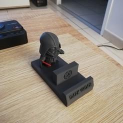 Descargar diseños 3D gratis soporte telefónico dark vador, psilo92