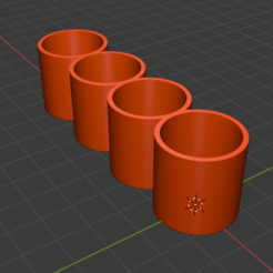 Download free 3D printing designs battery holder 18650/18350, psilo92