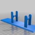 Download free 3D model Hot Glue Gun Stand, wickedmonkey3d
