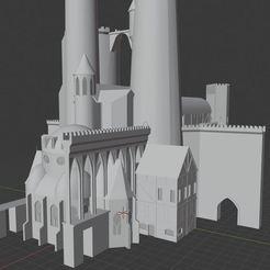 Descargar modelos 3D gratis Castle Ravenloft ( modelo de abanico ), wickedmonkey3d
