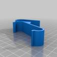 Download free 3D printer designs Iphone Airplane Holder, wickedmonkey3d