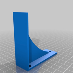 Impresiones 3D gratis Soporte de la estantería ( Pequeño ), wickedmonkey3d