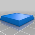 Download free 3D print files 25mm - 28mm Miniature Base (Square, Round, Hex), wickedmonkey3d