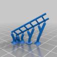 Download free 3D printer model Model Train Boxcar Ladder, wickedmonkey3d