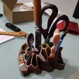 Download free STL file Pen and Pencil Holder  • 3D print object, Gaet16221284