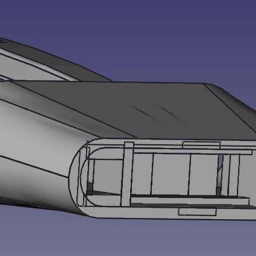Download free 3D model Kitchenaid Toaster Lever, QB89Dragon