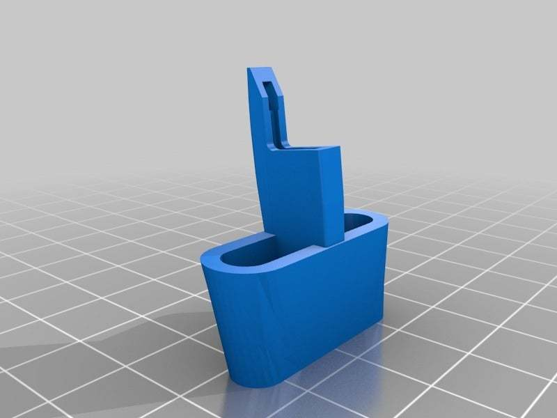 Toaster_Handle_Kitchenaid.jpg Download free STL file Kitchenaid Toaster Lever • Model to 3D print, QB89Dragon