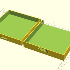Descargar archivos 3D gratis Caso con bisagra, QB89Dragon