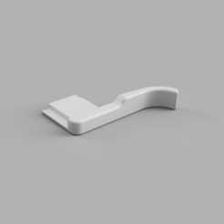 ThumbGrip4v10.png Télécharger fichier STL gratuit Poignée pour la série Fujifilm X100 • Objet à imprimer en 3D, Hans64