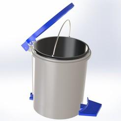 Projet sans titre 6.jpg Télécharger fichier STL Trash bin • Plan à imprimer en 3D, Yunustrader