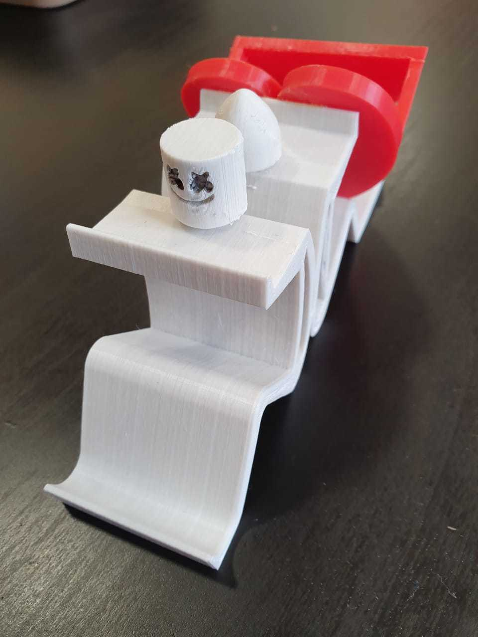 Stand_HeartCase.jpeg Download free STL file Mobile Phone Stand & Airpods Heart Box • 3D printer model, mennaelfrash55