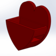 Airpods_HeartBox.png Download free STL file Mobile Phone Stand & Airpods Heart Box • 3D printer model, mennaelfrash55
