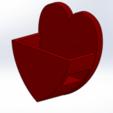 Download free STL Mobile Phone Stand & Airpods Heart Box, mennaelfrash55