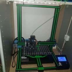 Imprimir en 3D gratis rayas decorativas para Sovol SV01, willivogel