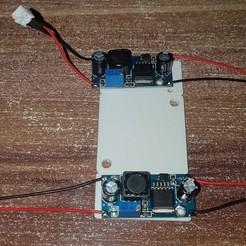 Descargar archivo 3D gratis LM2596 Placa de montaje de la placa de montaje para el Sovol SV01, willivogel