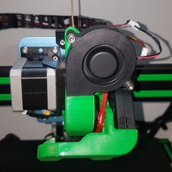 Download STL file SOVOL SV01 new 5015 radial fan holder for hotend  • 3D printing design, willivogel