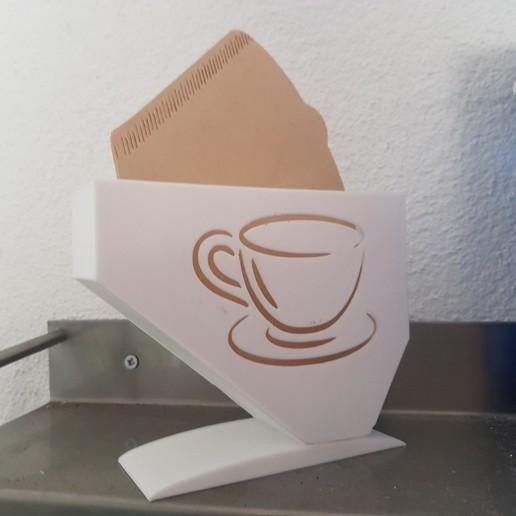 Download free STL file Coffe Filter Holder • 3D printing design, willivogel