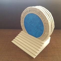 Descargar STL Posavasos Stargate para ollas calientes, willivogel