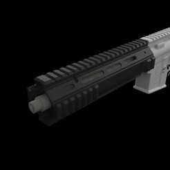 l119a2.211.jpg Download STL file Airsoft L119A Handguard • 3D printable object, Infrastructure_Airsoft_Parts