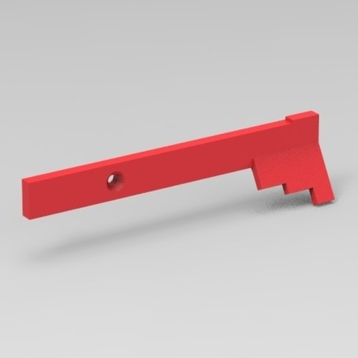 Download free STL file M4 Charging handle extension, Infrastructure_Airsoft_Parts