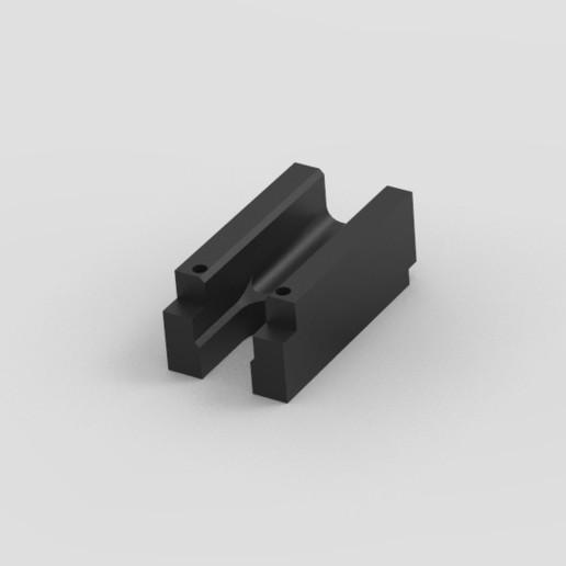 Download free STL file AK magazine spacer • 3D printer design, Infrastructure_Airsoft_Parts