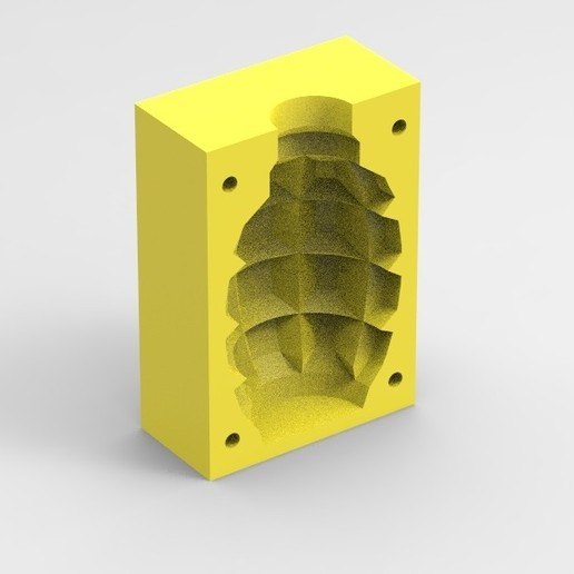 Download free 3D printer templates Airsoft F1 grenade mold, Infrastructure_Airsoft_Parts