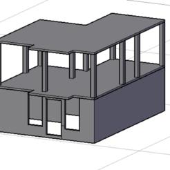 Télécharger fichier imprimante 3D gratuit MAISON AVEC DES MURS, Edsimpson