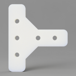 Download free STL file 2020 Aluminum Extrusion Mounts • 3D print object, KasaTech