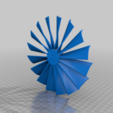 Download free STL file Turbine Fan for BE1806-2300KV Electric Motor • 3D printable object, KasaTech