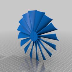 Télécharger plan imprimante 3D gatuit Ventilateur à turbine pour moteur électrique BE1806-2300KV, KasaTech
