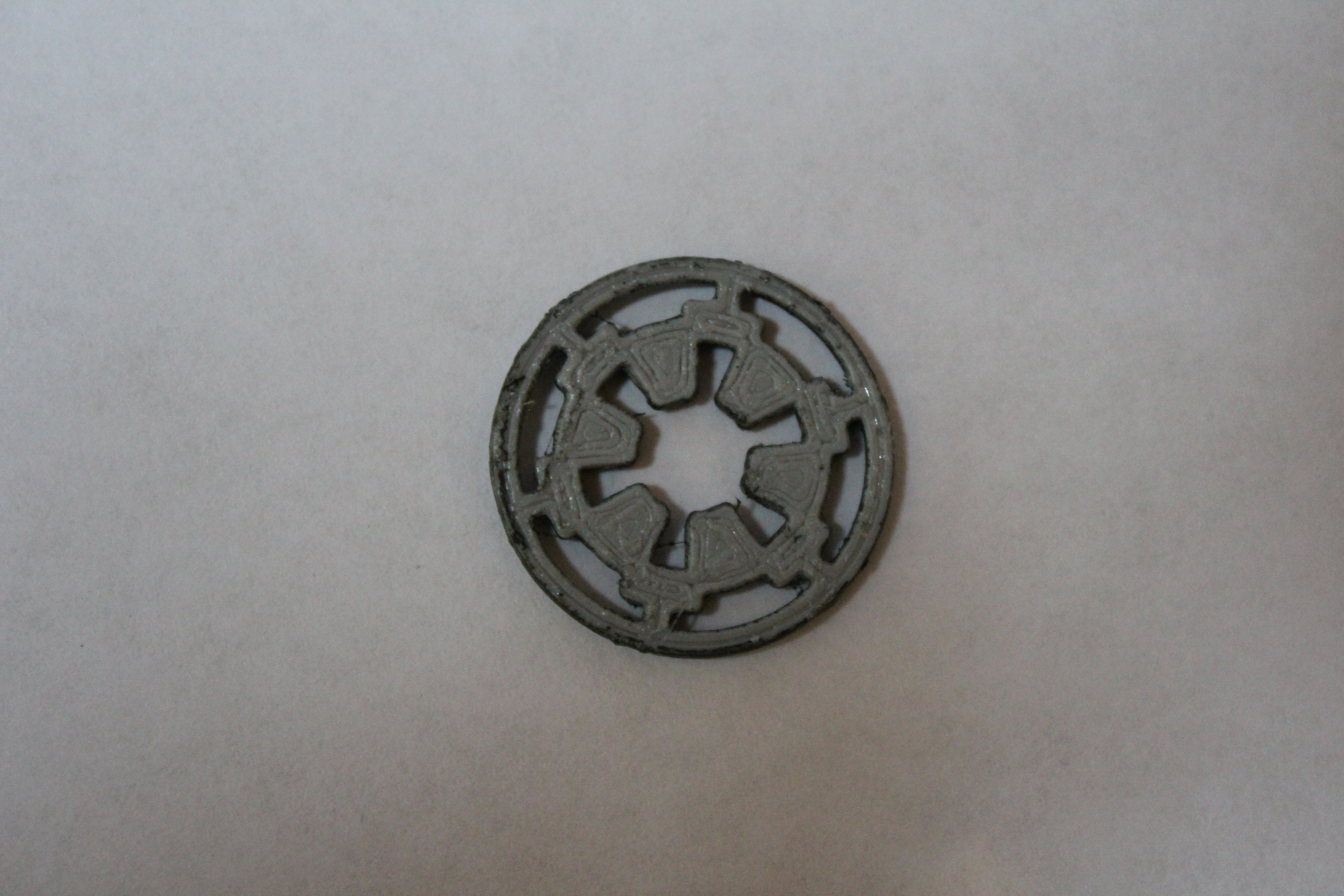 IMG_2342.JPG Download free STL file Star Wars Imperial Seal (Scaleable) • 3D printing template, Bountyhunterxx5