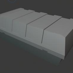 Capture.PNG Download free STL file Star Wars Legion scale Republic Cargo Container • 3D printer design, Bountyhunterxx5