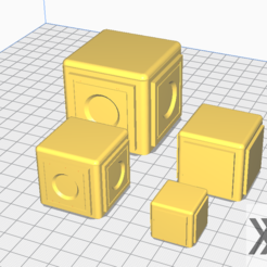 Capture.PNG Download free STL file Star Wars Legion scale Landing Pad Crates • Design to 3D print, Bountyhunterxx5