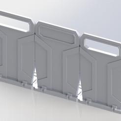 Descargar archivo 3D gratis Escala de la Legión de Star Wars Escudos antidisturbios de la República con bases modulares, Bountyhunterxx5