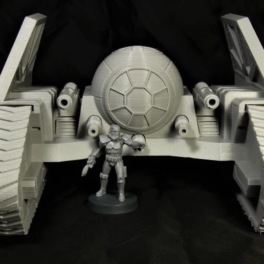 Download free STL files Star Wars Legion scale TIE Mauler (TIE AP-1), Bountyhunterxx5
