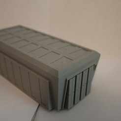 Descargar archivos 3D gratis Escala de la Legión de la Guerra de las Galaxias Gran contenedor de carga, Bountyhunterxx5