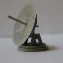 IMG_2393.JPG Download free STL file Star Wars Legion scale Rooftop Dish • 3D printer design, Bountyhunterxx5