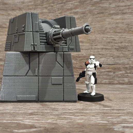 Télécharger objet 3D gratuit Turbo laser à l'échelle de la Légion de la Guerre des étoiles, Bountyhunterxx5