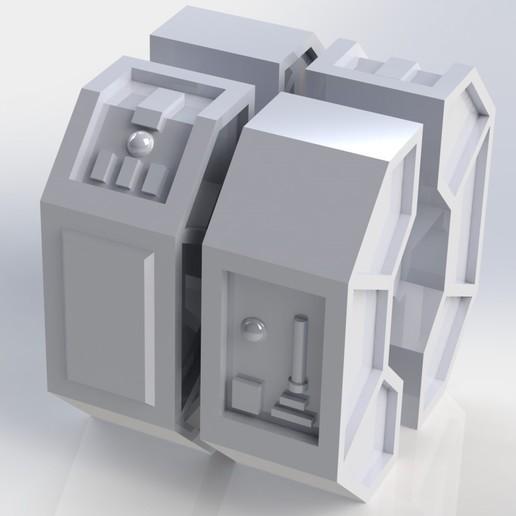 Download free 3D print files Star Wars Legion scale Republic Fuel Container, Bountyhunterxx5