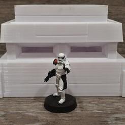 Descargar modelo 3D gratis Búnker a escala de la Legión de Star Wars, Bountyhunterxx5