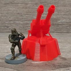 f.jpg Télécharger fichier STL gratuit Canon de la légion Star Wars à l'échelle AA • Modèle imprimable en 3D, Bountyhunterxx5