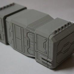 Descargar diseños 3D gratis Escala de la Legión de la Guerra de las Galaxias Contenedor de carga media, Bountyhunterxx5