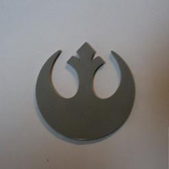 Download free 3D printing templates Star Wars Alliance Starbird (Rebel Symbol), Bountyhunterxx5