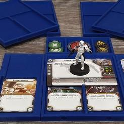Télécharger modèle 3D gratuit Plateaux d'unité de la Légion de la Guerre des étoiles avec accessoires de mise à niveau, Bountyhunterxx5