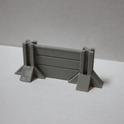 Télécharger objet 3D gratuit Système modulaire de murs et de barricades pour les jeux de guerre, Bountyhunterxx5