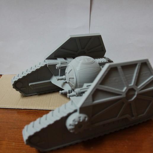 Descargar archivos 3D gratis Escala de la Legión de la Guerra de las Galaxias TIE Mauler (TIE AP-1), Bountyhunterxx5